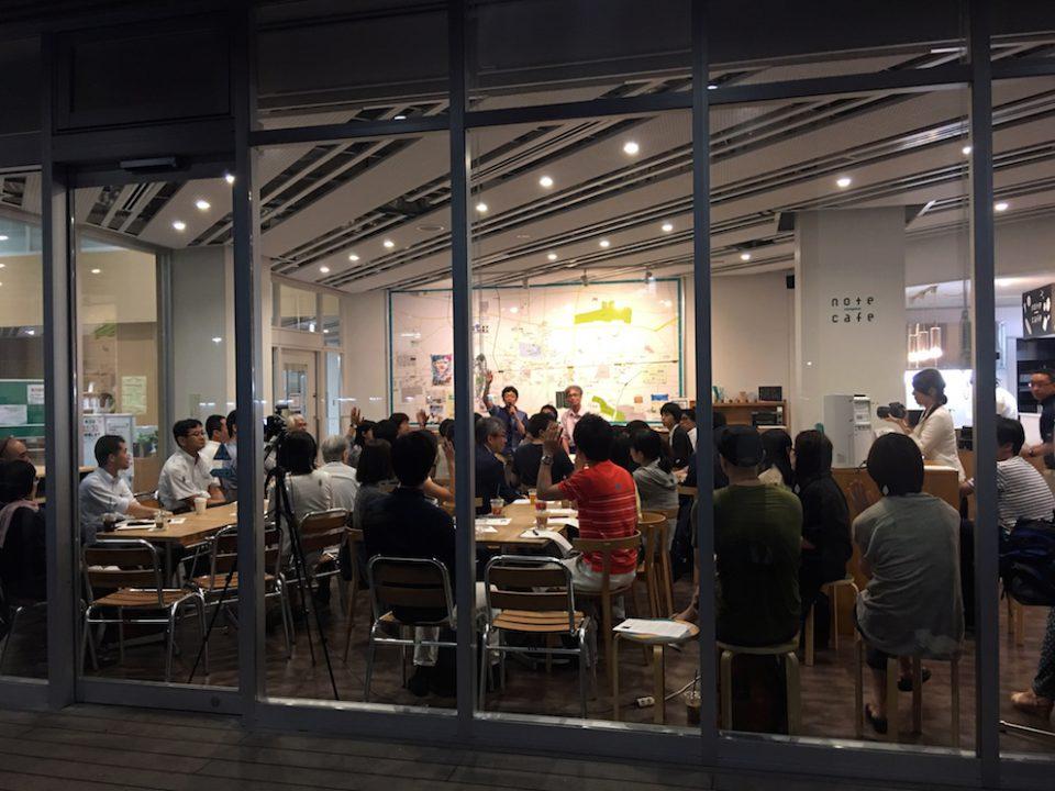 「まちのカルチャーカフェ」 まちの人と大学の人が交わる月1回のトークイベント