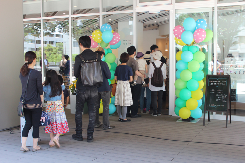 「東京学芸大学図書館カフェnote cafe」 国立大学と地元企業によるカフェの立ち上げ