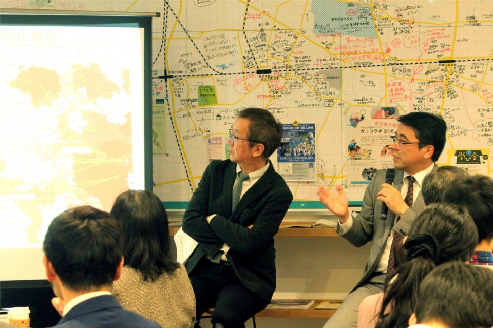 ゲストの松田恵示先生と長島剛さん