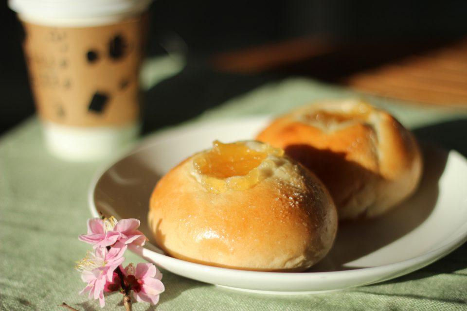 【新メニュー】もちもち生地!米粉のアップルジンジャー